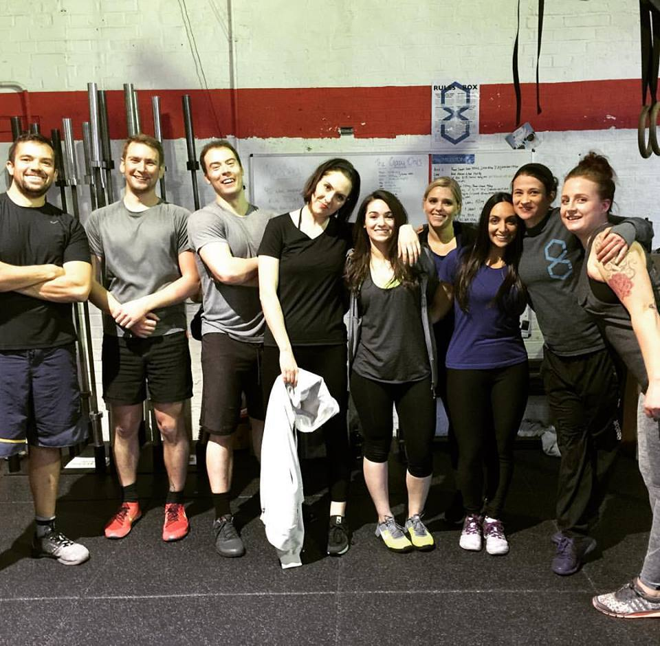 The Developing Gymnastics Strength crew!
