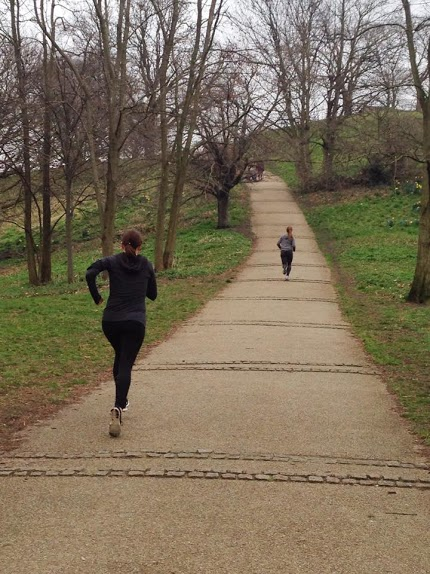 Greenwich is great for hill sprints!