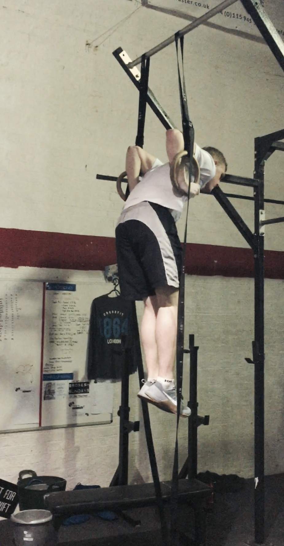 Throwback to Salt's first muscle-up!