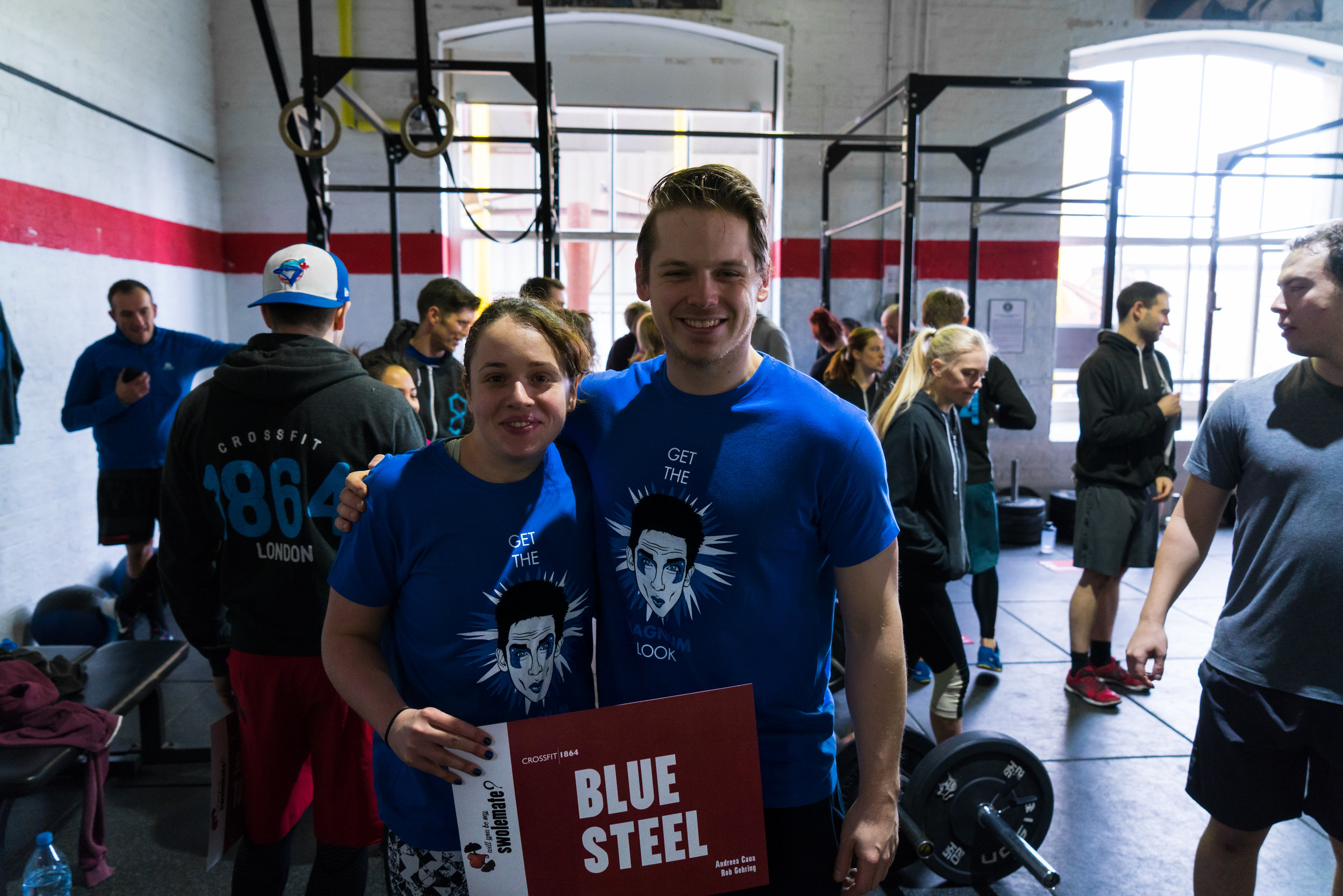 Team Blue Steel after last year's Swolemate Throwdown