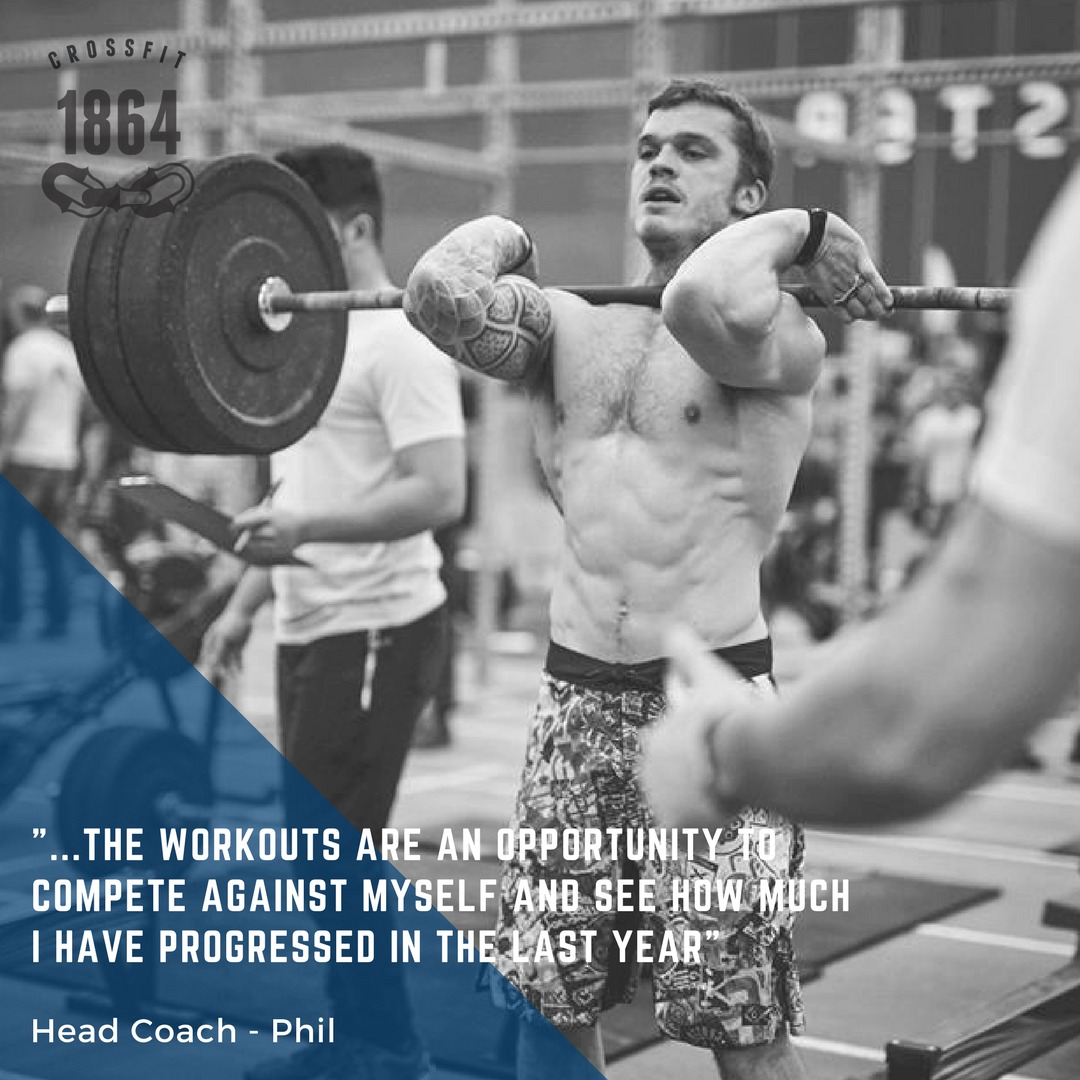 Coach Phil is signed up for the 2018 CrossFit Open...  Are you?!