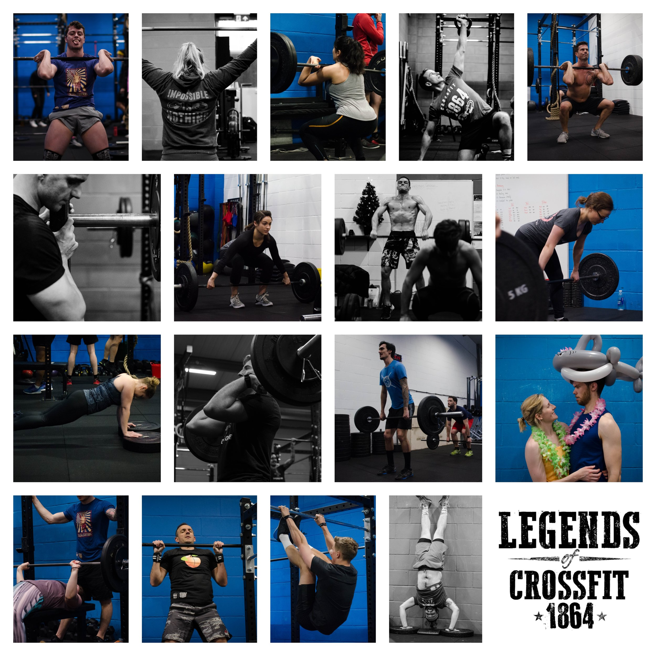 Here's to our Legends of CrossFit 1864!