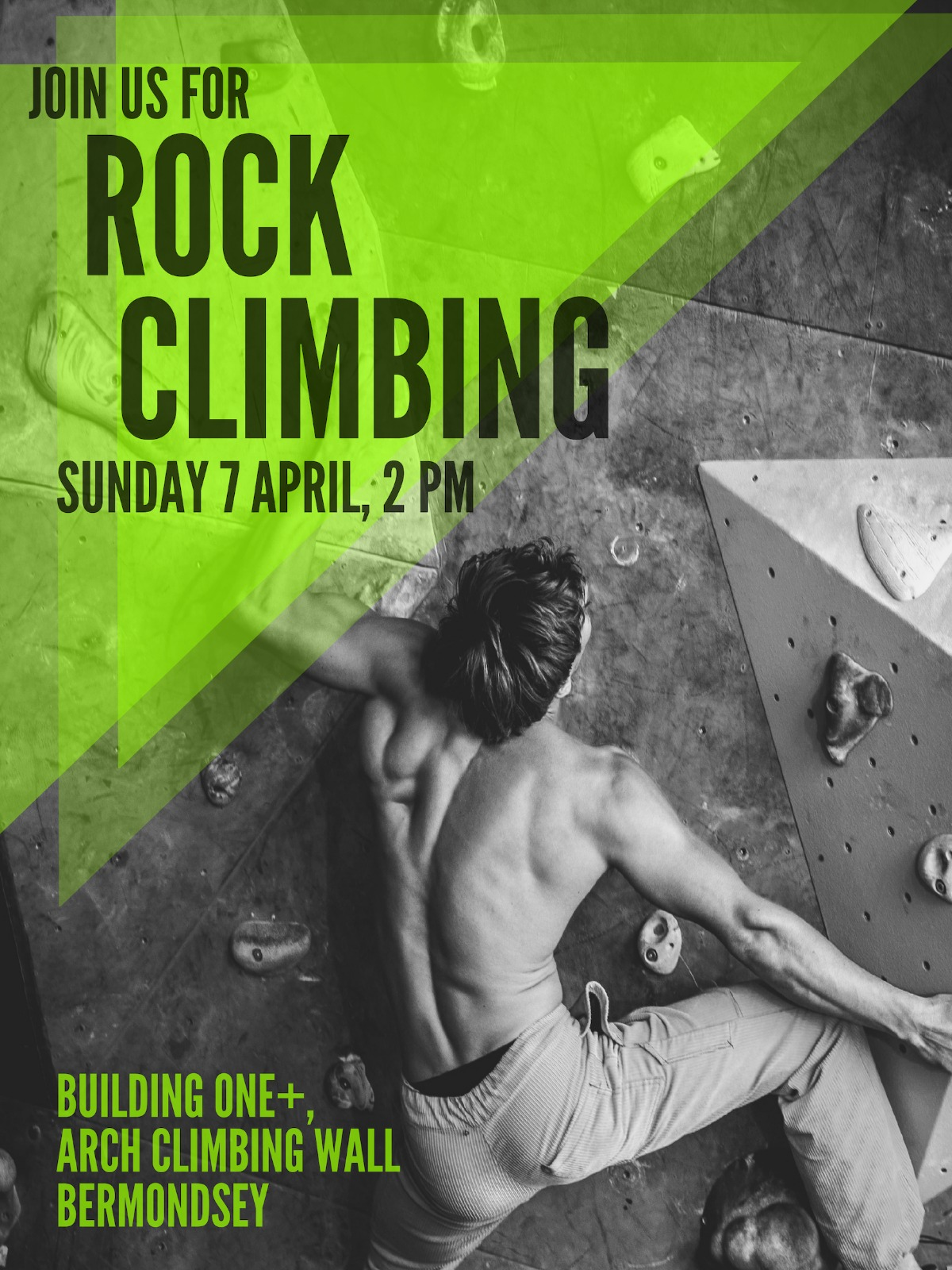 Join us for our next CF1864 Box Social, Rock Climbing! We'll be headed to Building One+ in Bermondsey on Sunday 7 April at 2 pm. See you all there!