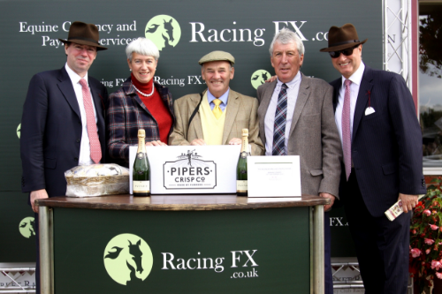 Above:   Chief Executive of Racing FX, Andy Rowland and Rich Ricci at the Racing FX Prelude Race Day at Market Rasen on 26th September.