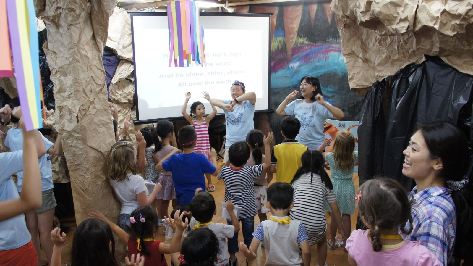 Summer English Camp Singing