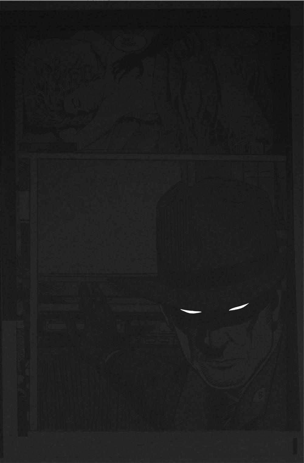 Midnight Videotape   Reconstructed Comic Book Panels. Spray paint.  84.1 x 118.9 cm