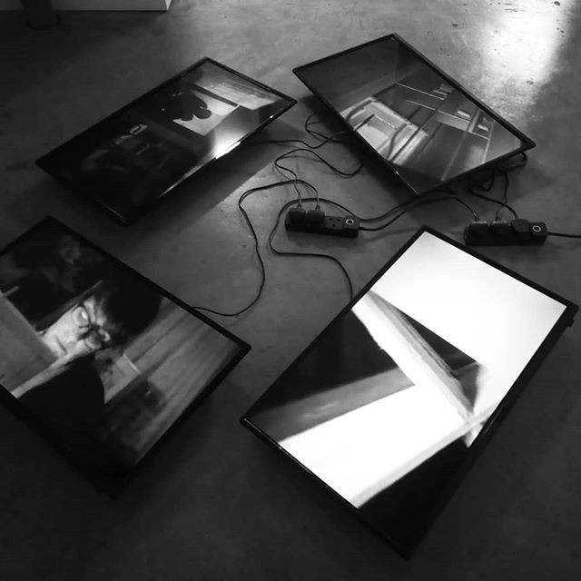 Surface Investigations showing for one week @ascgallery Art House, Croydon #40celsius #artistmovingimage #vrvideo #installationart #vr #noir #drone #cinema #mystery