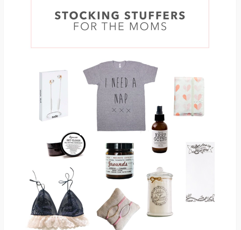 Codi Lynn from Creative Wife & Joyful Worker has released her list of Stocking Stuffers for Mom and included Sewn's Indie Bralette! More  here .