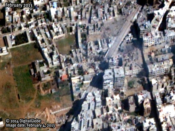 syria before bombing