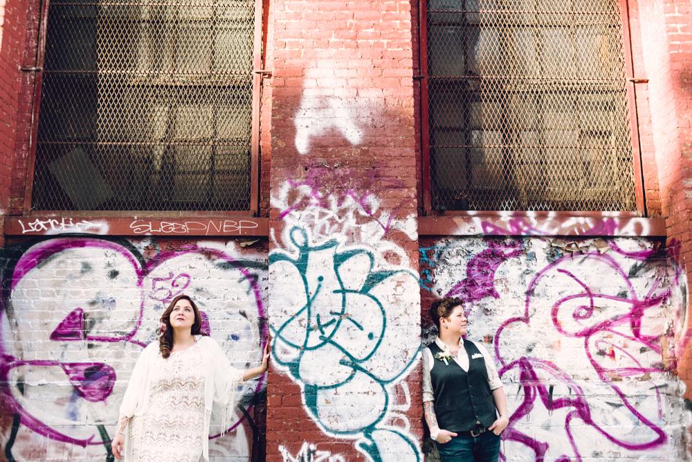 knitting factory   brooklyn wedding photographer