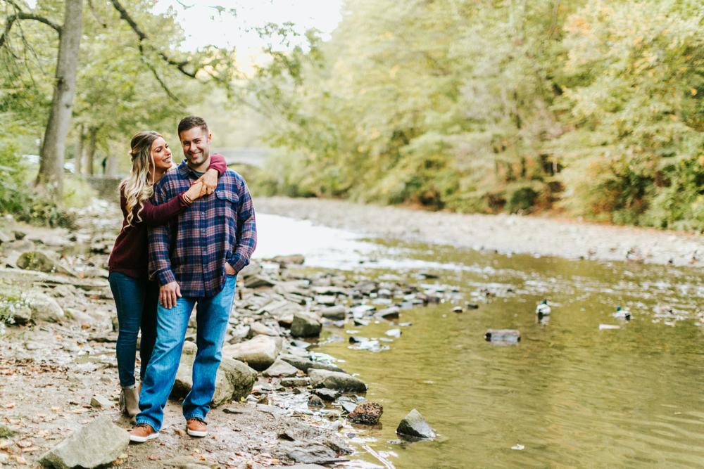 wissahickon valley park   philadelphia wedding photographer