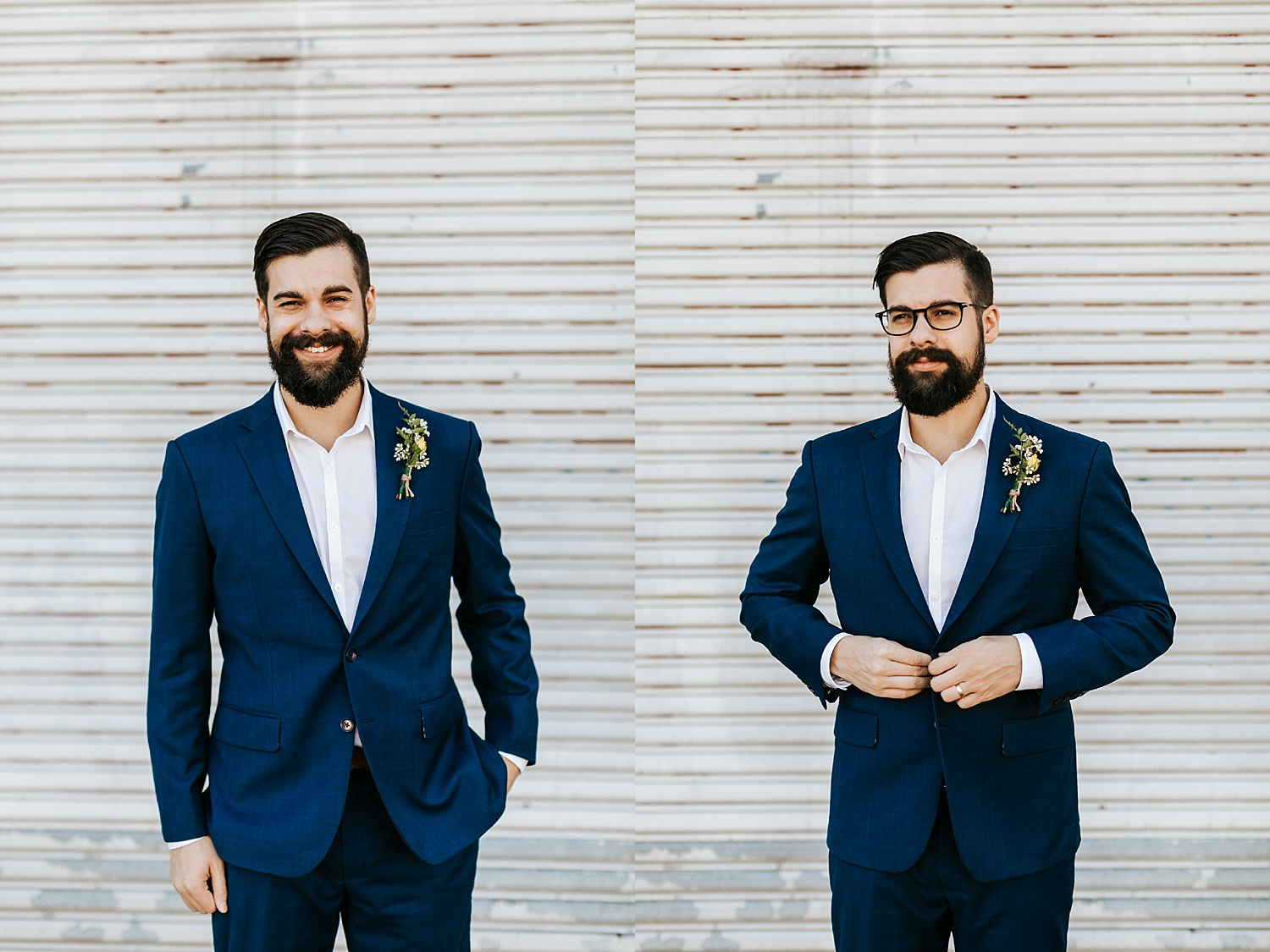 Groom portraits in fishtown, philadelphia