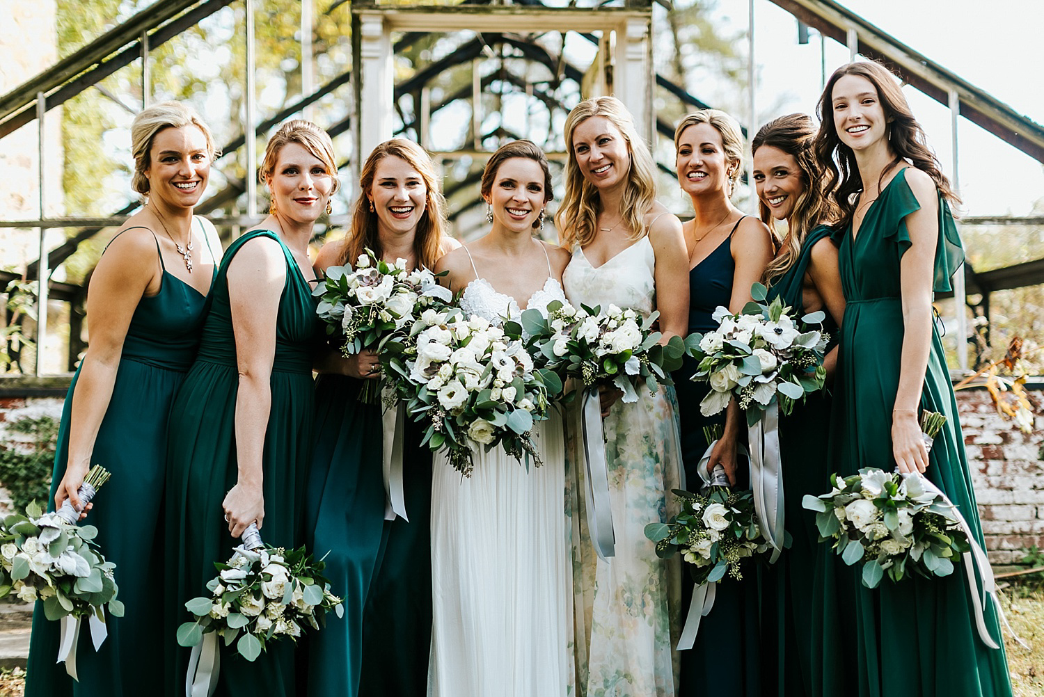Bridal party at philander chase knox by danfredo photos + films