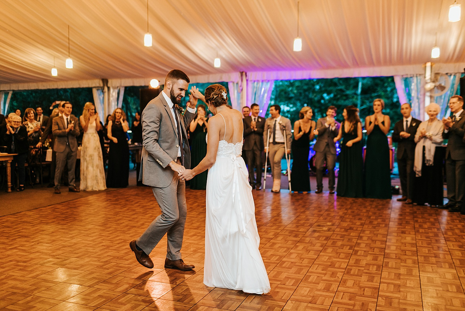 Wedding first dance at philander chase knox by danfredo photos + films