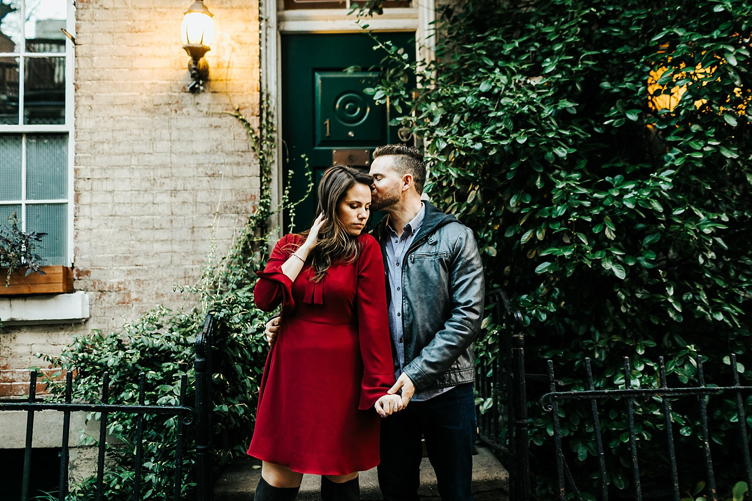 Fall engagement session in lower east side manhattan by danfredo photos + films