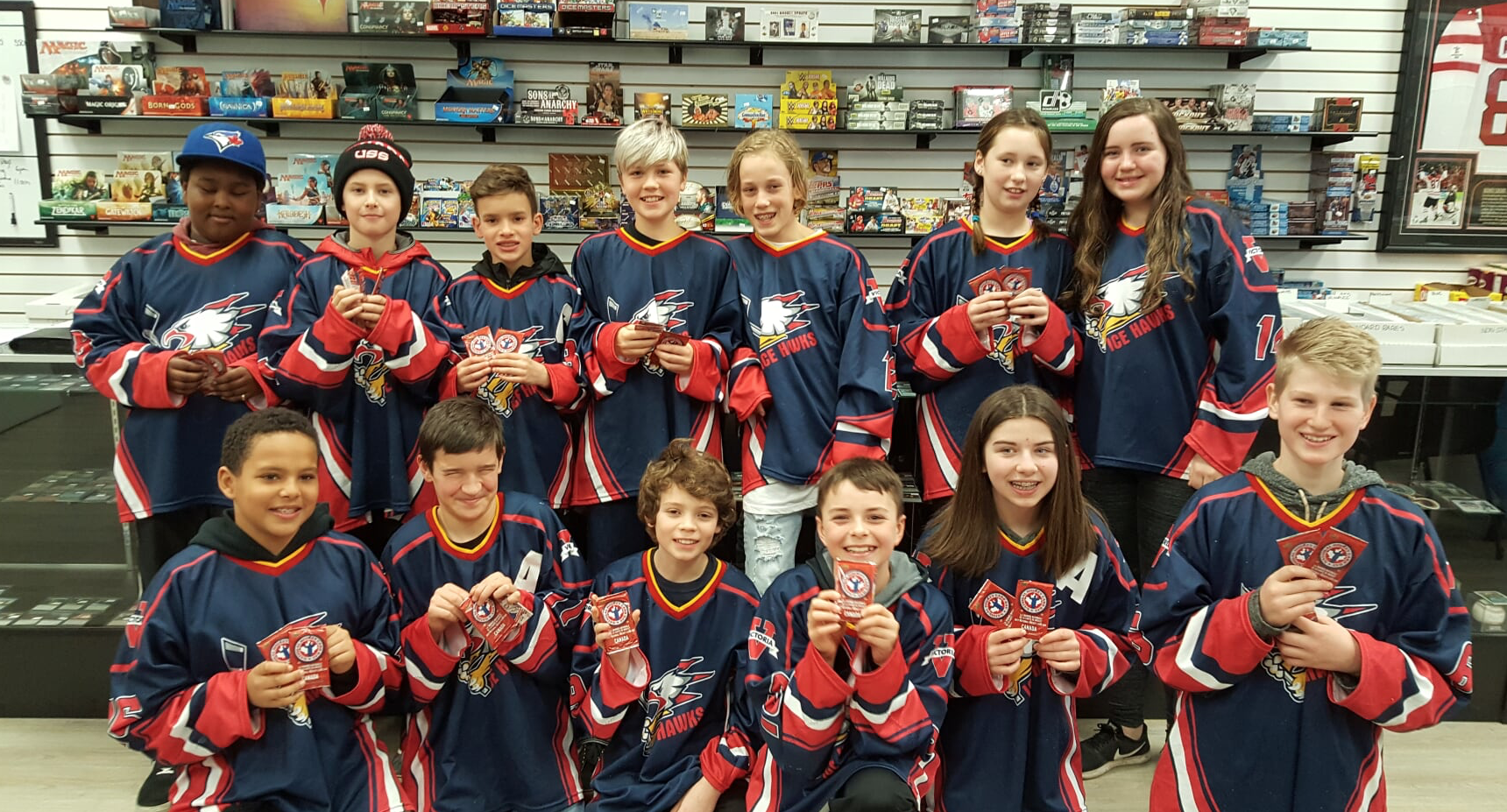 Triple Play Sports Cards, Victoria, BC - Youth Sponsorship!