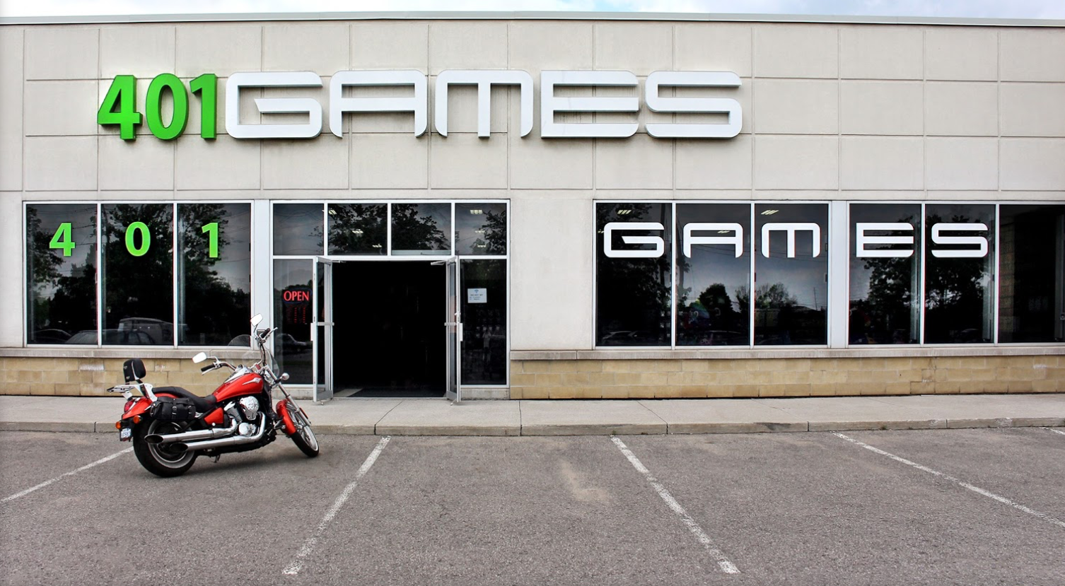401 Games new location in Vaughan!