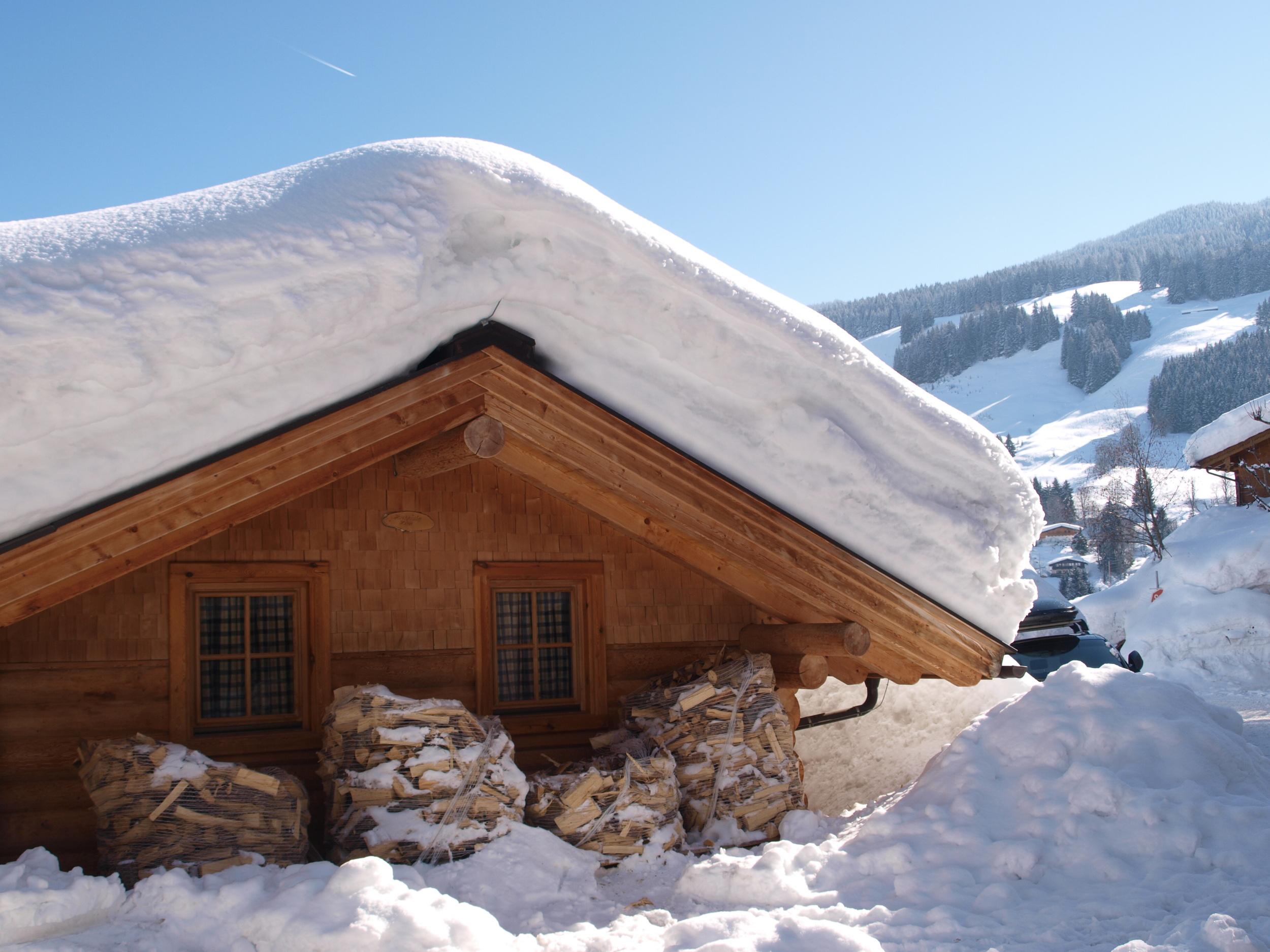 Winterurlaub in der Hütte