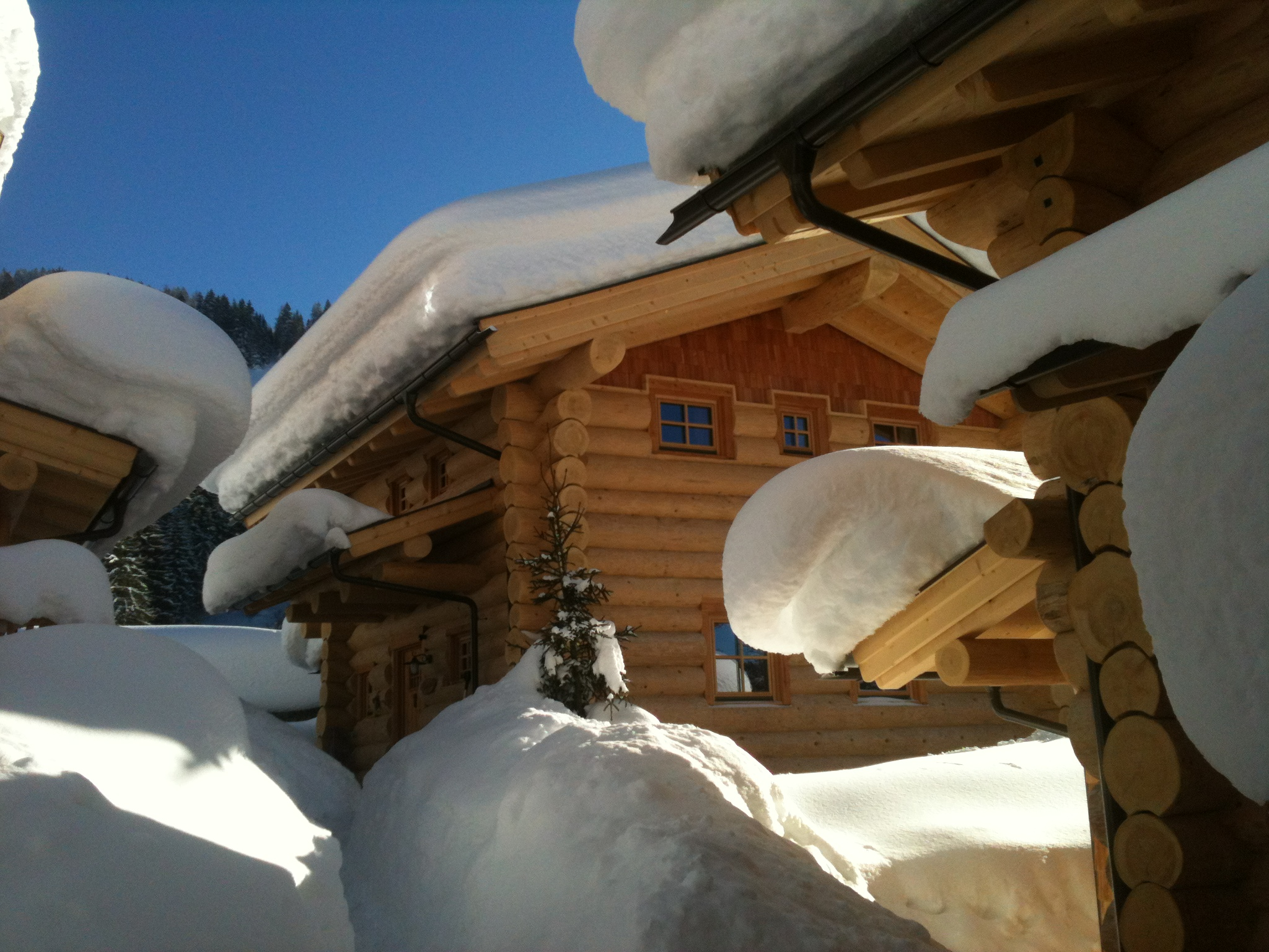 Luxus Chalet im Winter