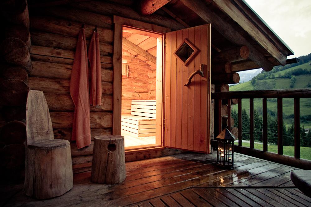 Kelo Sauna für 6 Personen
