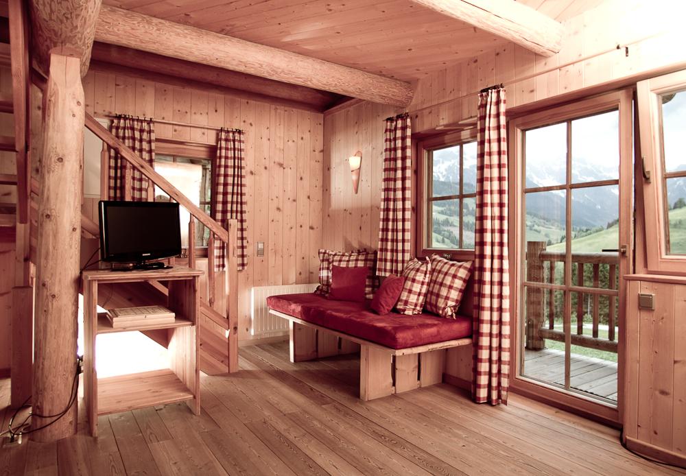 Wohnraum mit Kaminofen
