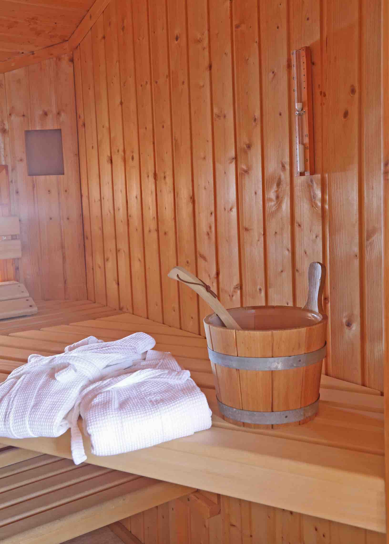 Chalet mit Sauna