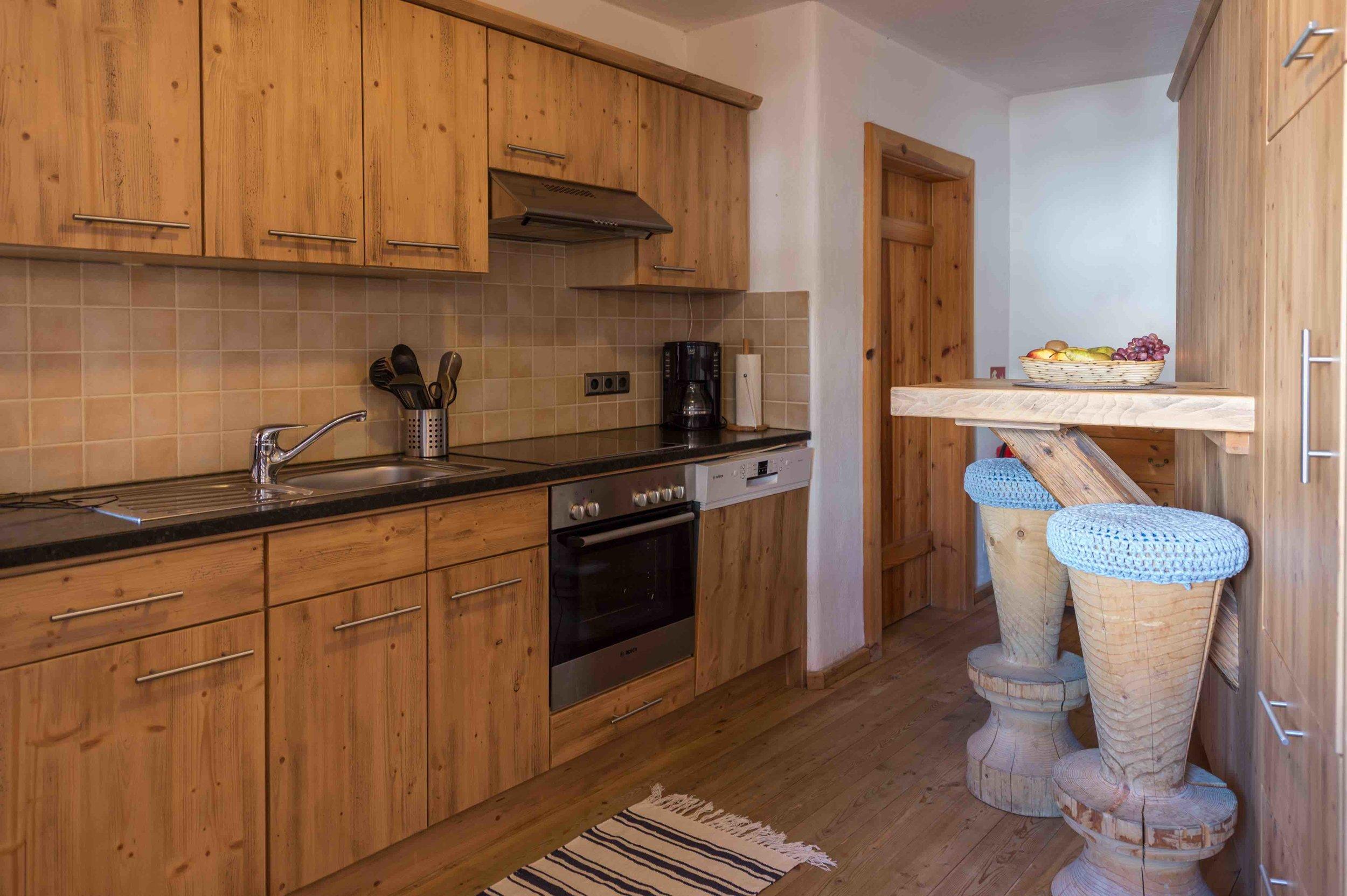 Küche im Appartement
