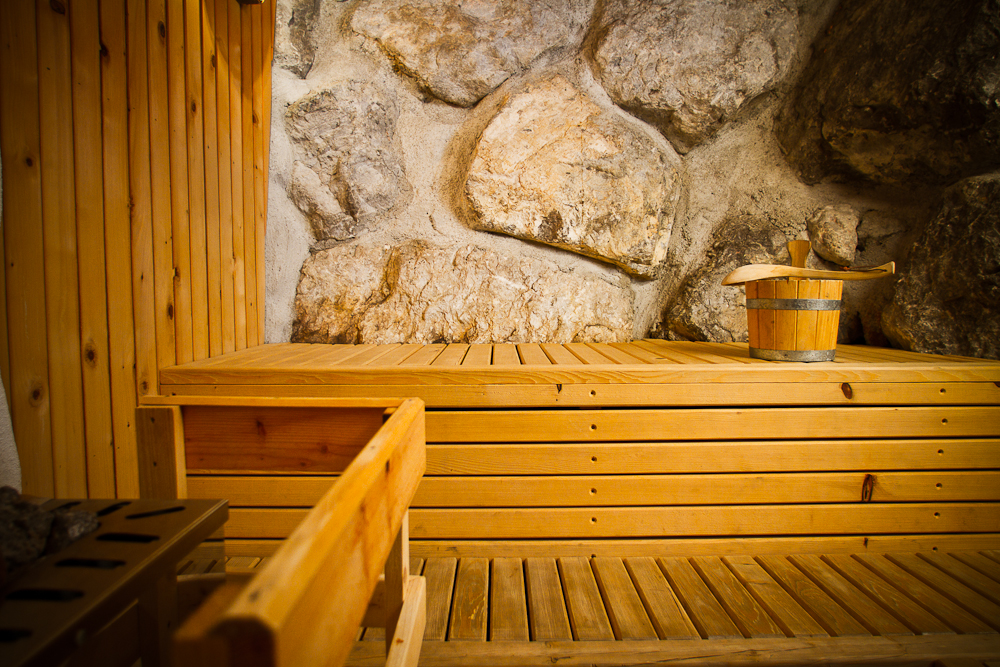 Felsen Sauna