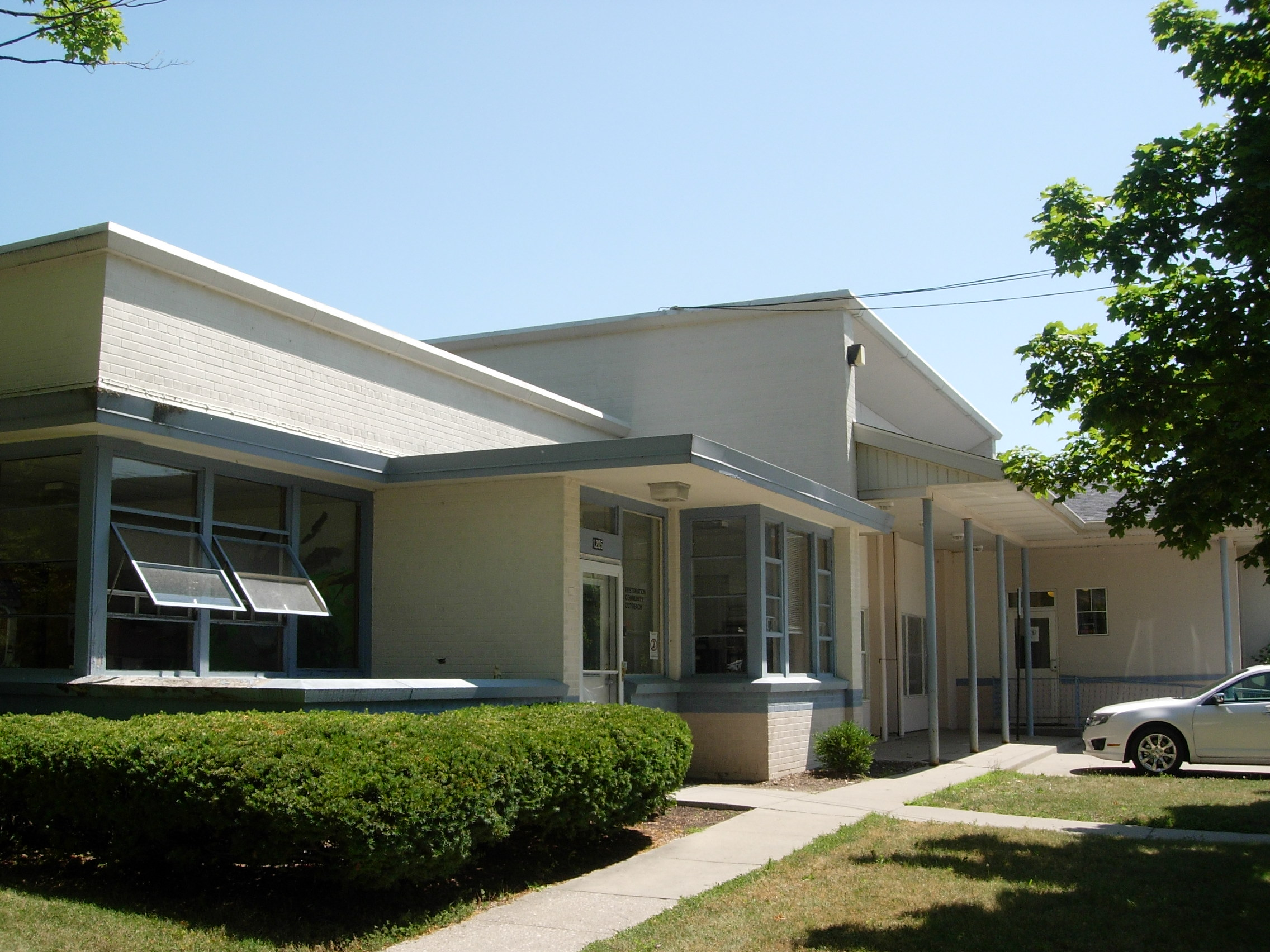 Restoration Community Outreach shelter