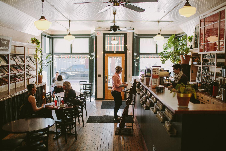 The sparrows coffee, tea, & Newsstand  |  Grand Rapids, MI