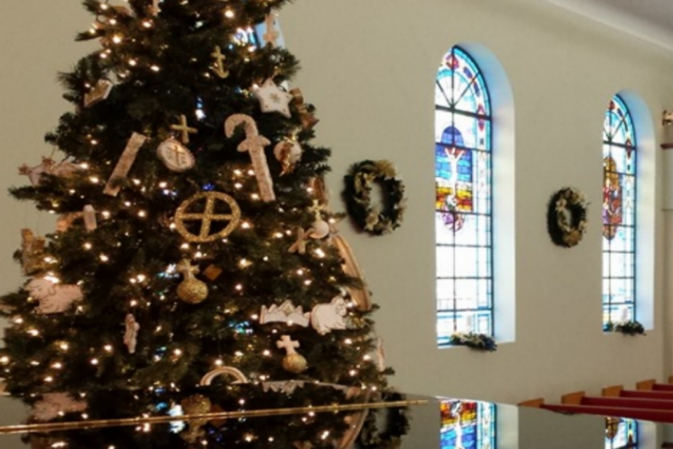 Christmas Sanctuary with stained glass.jpg