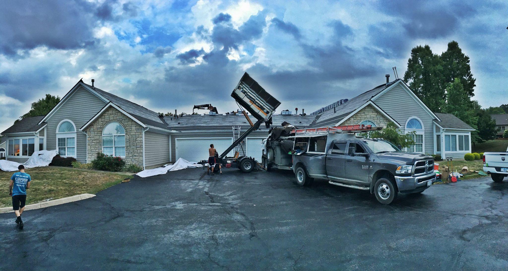 Villas at Chapel Hill Condominium Complex - Commercial Roofing Project