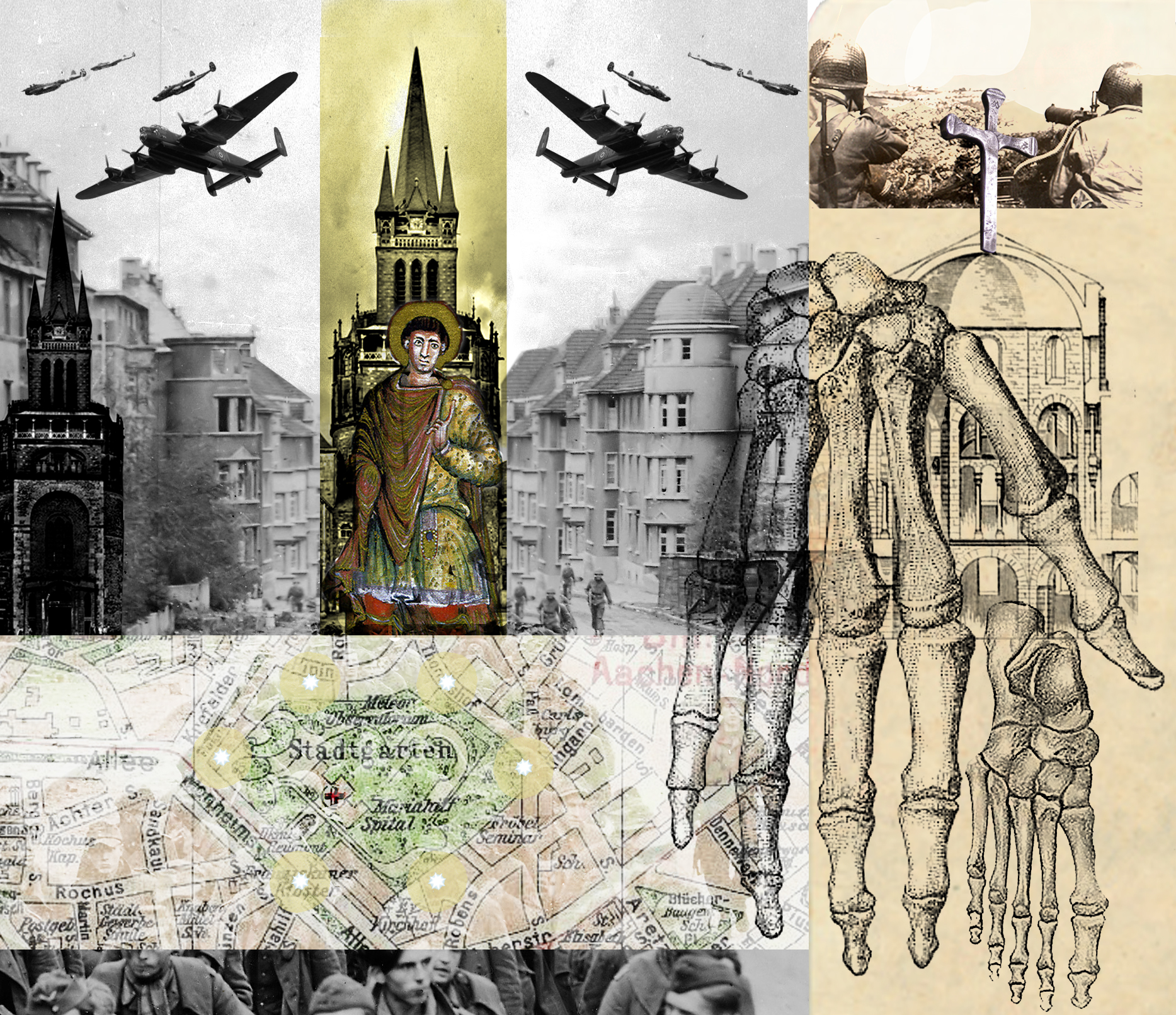 THE WARTIME SPARING OF AACHEN