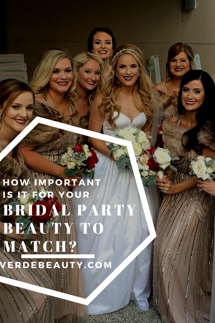 Bridal Party Matching Beauty