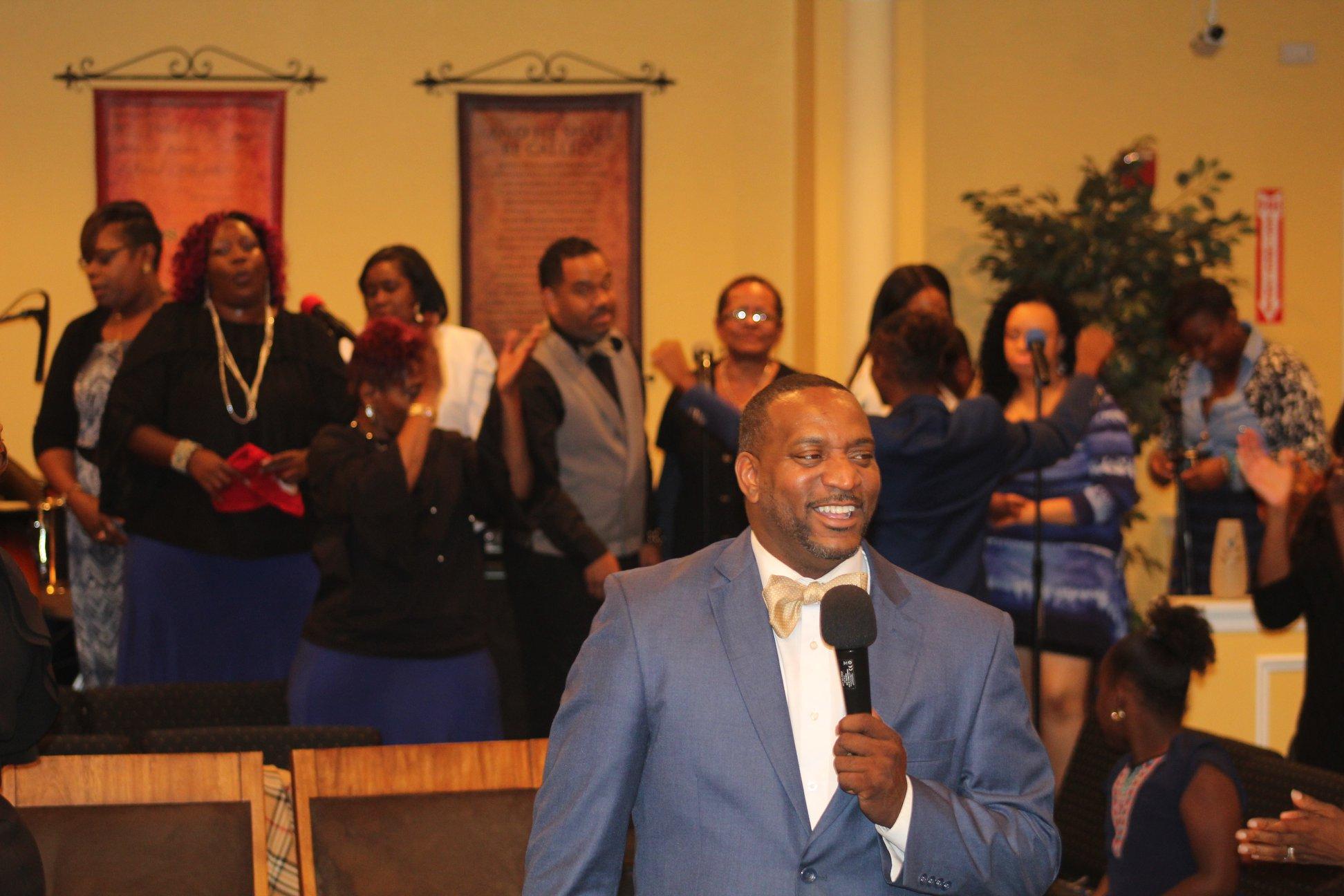 Pastor Shawn Blackwell