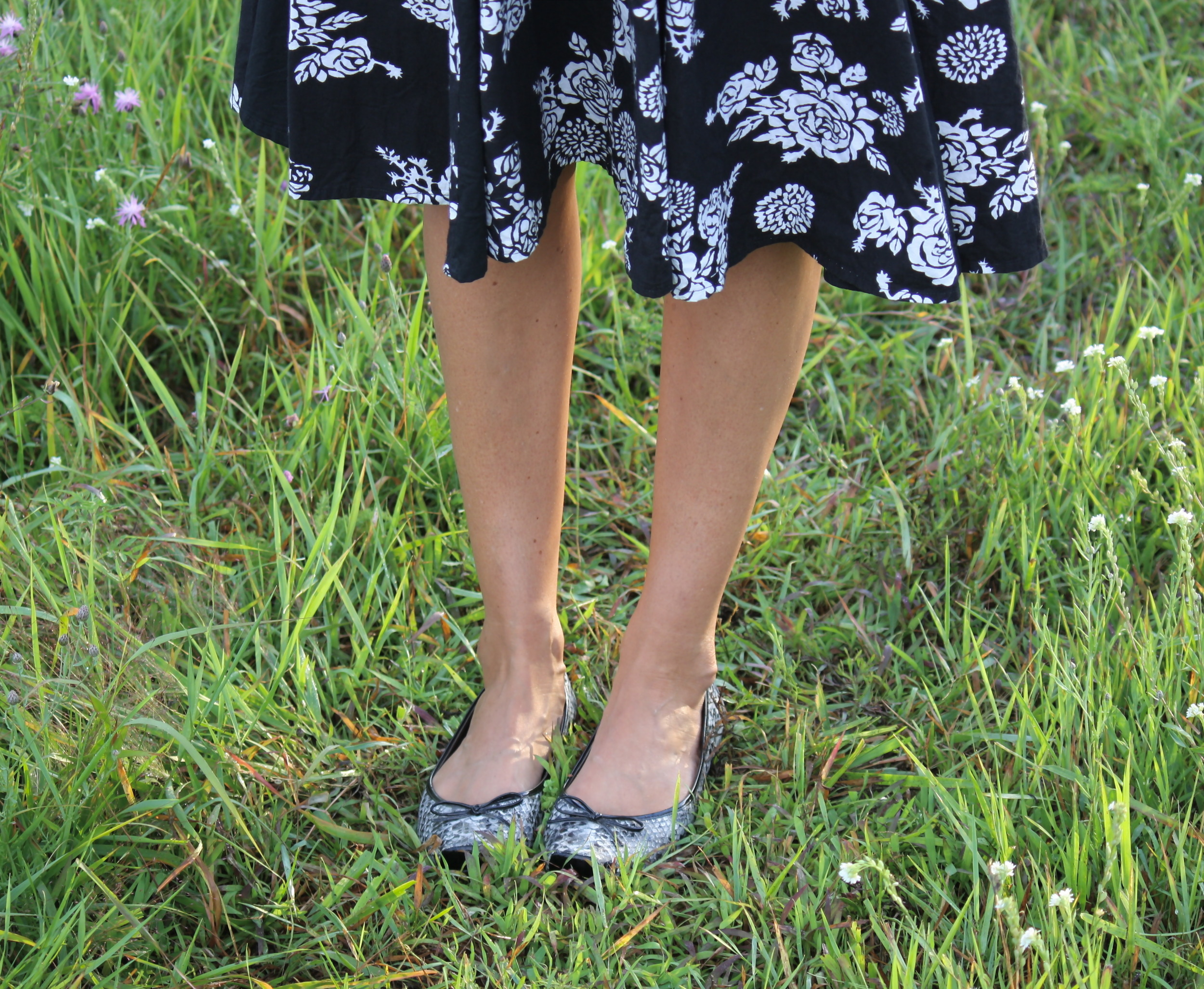 Ballet flats are a must when capturing the essence of Audrey.