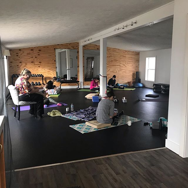 What a privilege to spend yesterday morning with these incredible humans! A morning of reflecting, taking inventory, journaling, walking outside, and practicing yoga. They ended their time taking part in a Letting Go Ceremony... letting go of the lies they believe about themselves.  To be able to end well and begin well, we must embrace the truth of our worth. May we extend ourselves grace and compassion and live a life that flows from the truth that we have worth. And may we extend others grace and compassion and recognize their worth. Cheers to 2019! #journeyofwellbeing