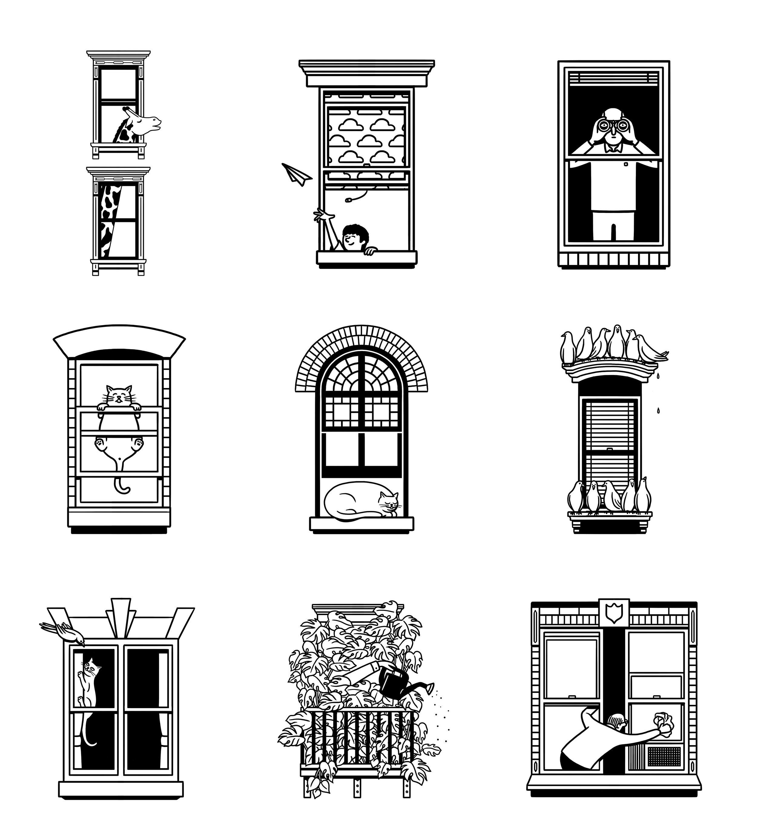 Illustrations by Matt Blease