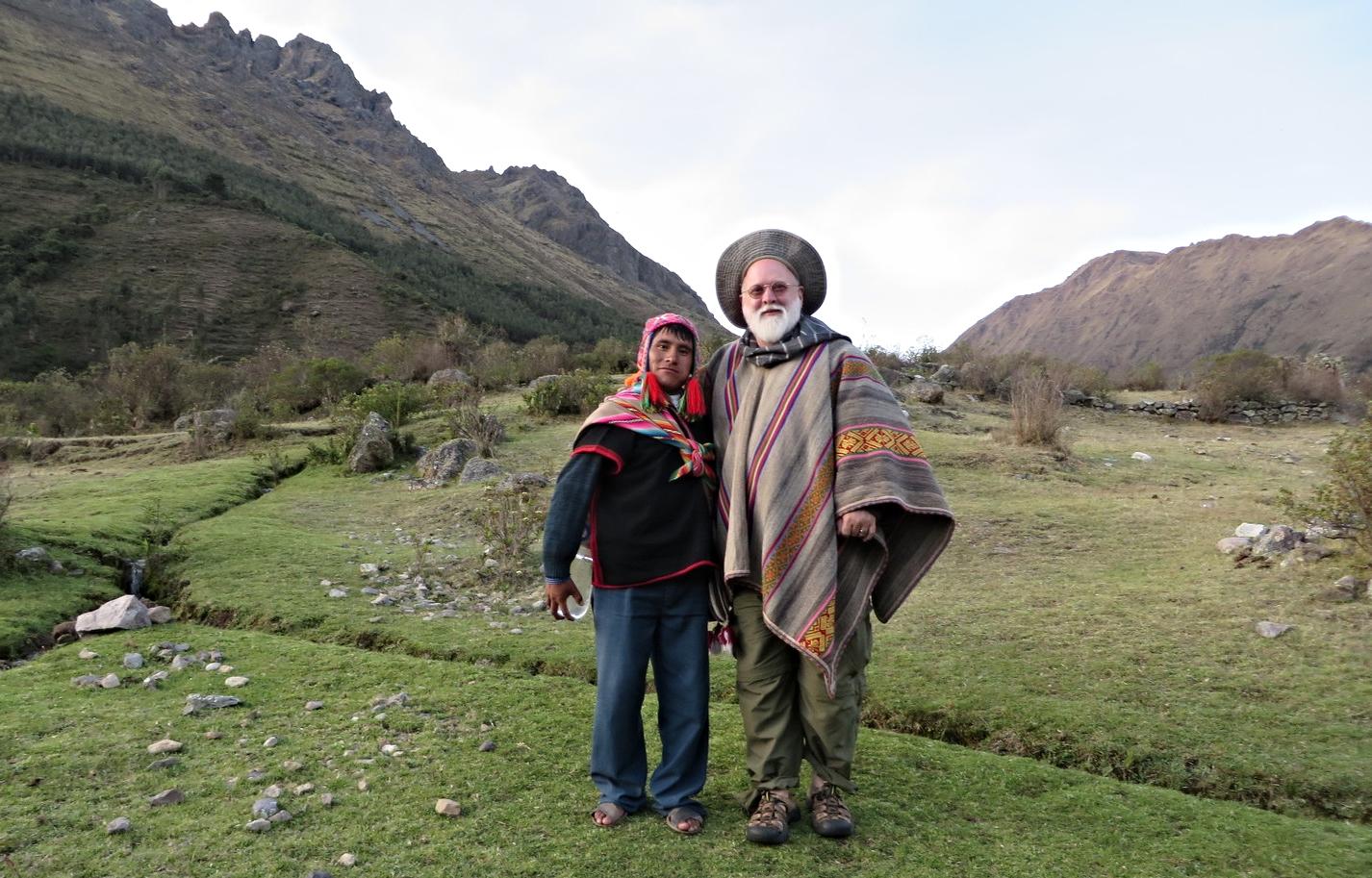 Jeffrey Rich, shamanic healing practitioner with Hatun Victor in Peru 2013