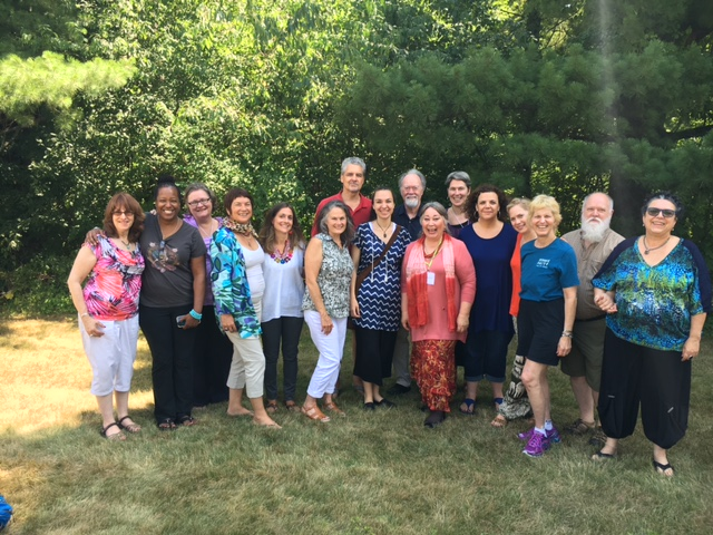 Happy Souls at the International Systemic Constellations Intensive, 2016, Connecticut, USA.