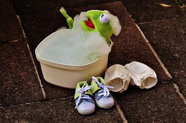 Frog Bath Bath Foam Swim Foam Cute Kermit Funny