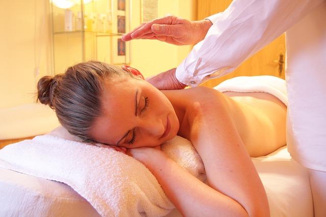 Spa Massage Relax Wellness Woman Relaxing