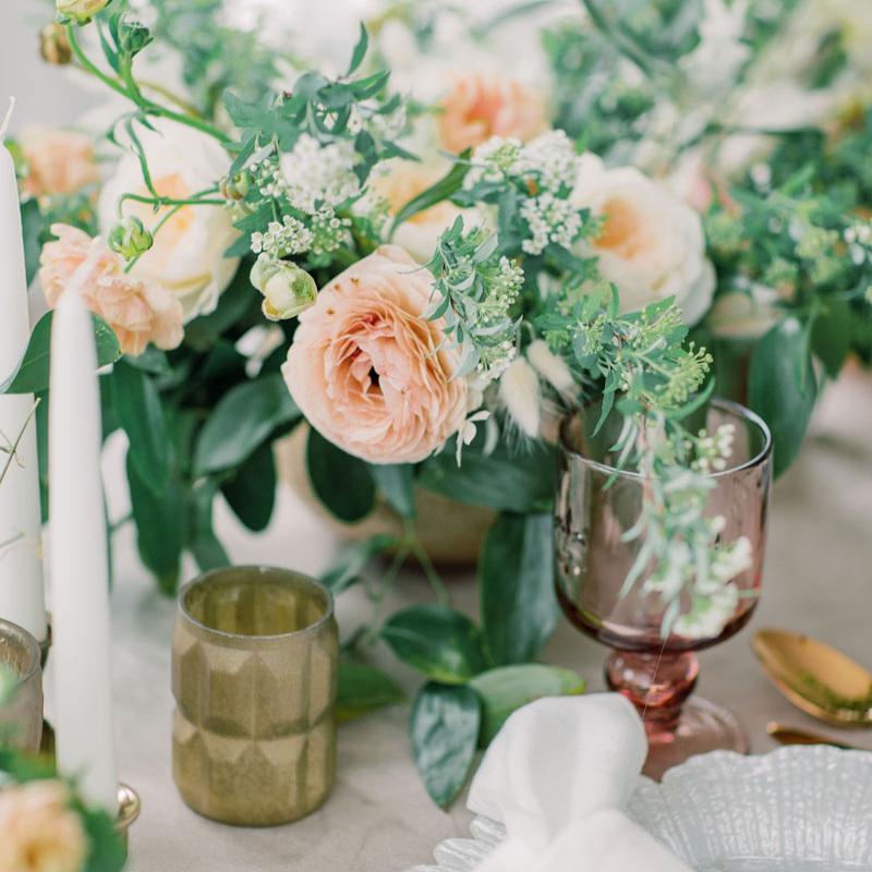 Wedding floral design -