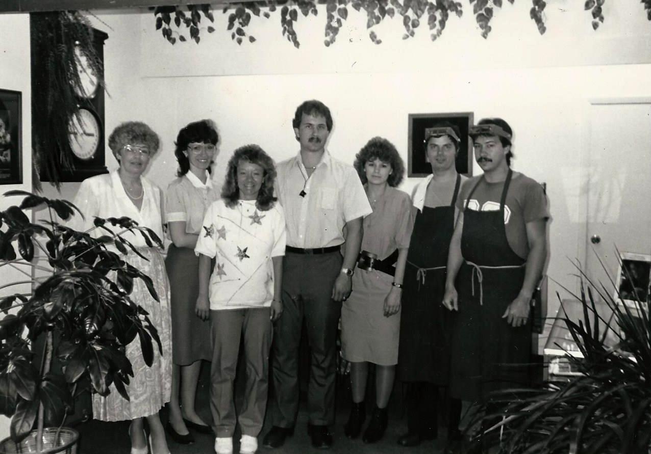 Howie's Jewelers Staff, Circa 1987