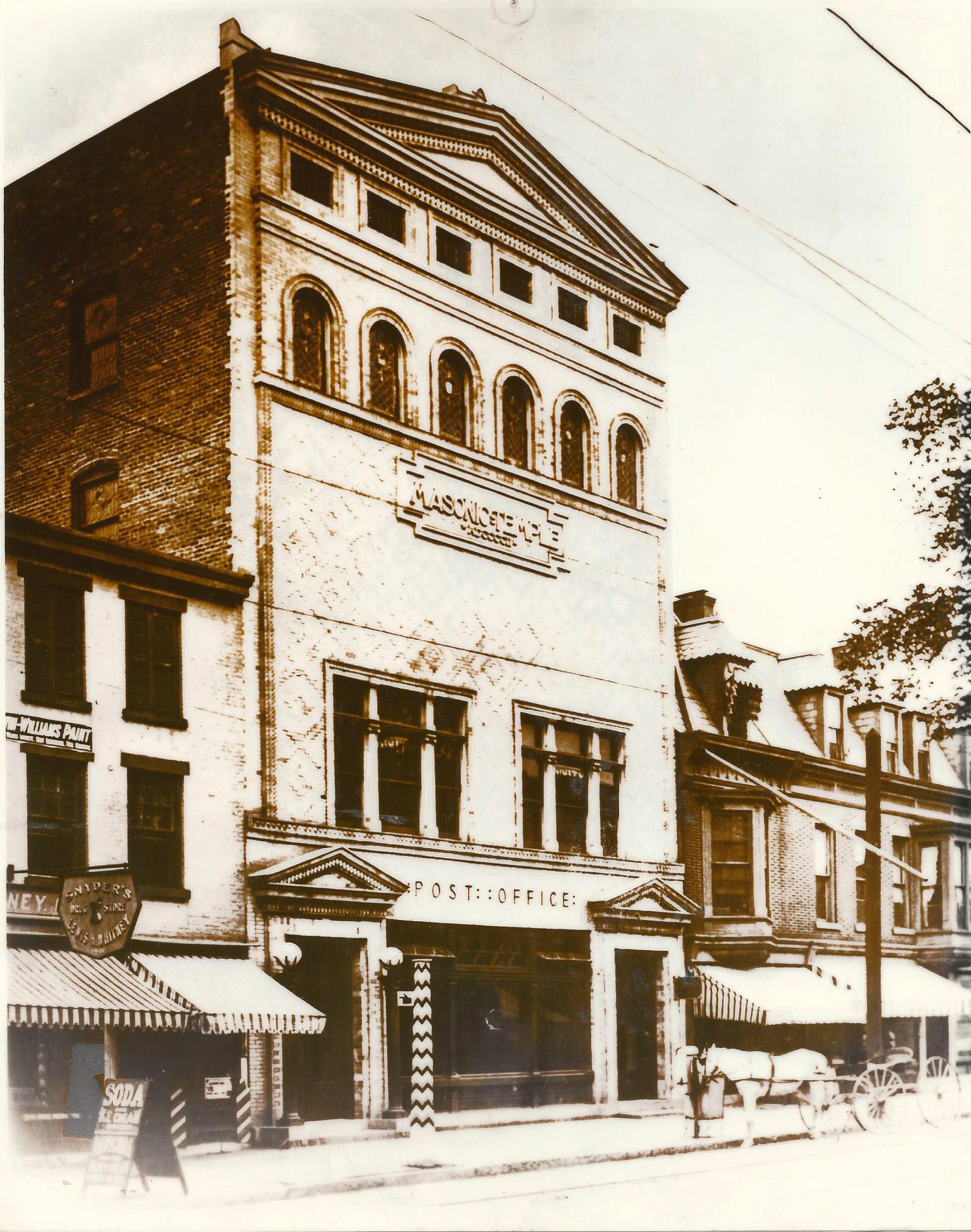 Howie's Jewelers original location 607 Second Avenue in Lansingburgh before it was converted to a store front