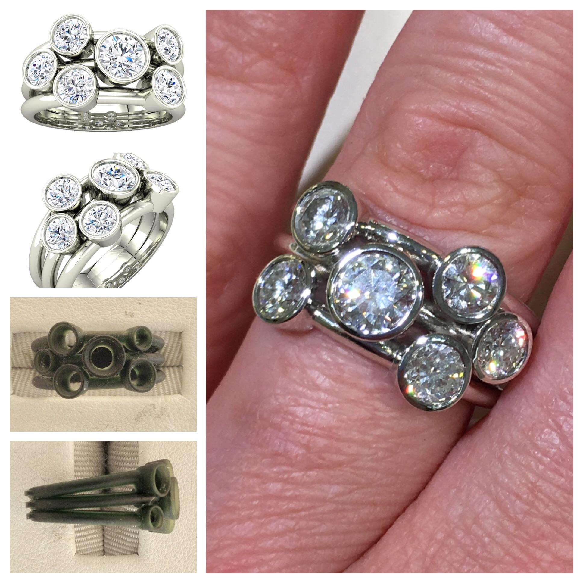 Custom Diamond Remount