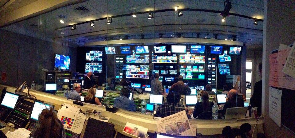 ABC News Election Night Times Square Studios, New York  Senior Technical Director Rich Ehrenberg