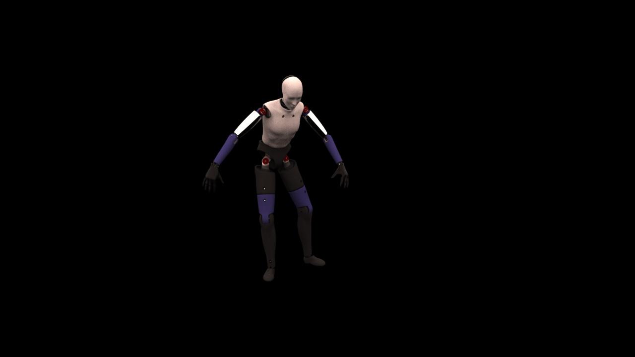 3dsMax & V-Ray Biped Animation