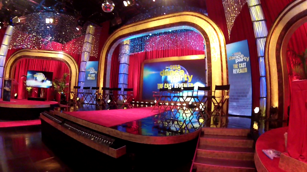 2014 Dancing with the stars new cast reveal, Los Angeles (technical director)