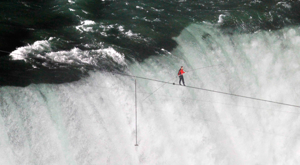 "Megasports (ABC) Special ""Walk across Niagara Falls"" (Technical Director)"